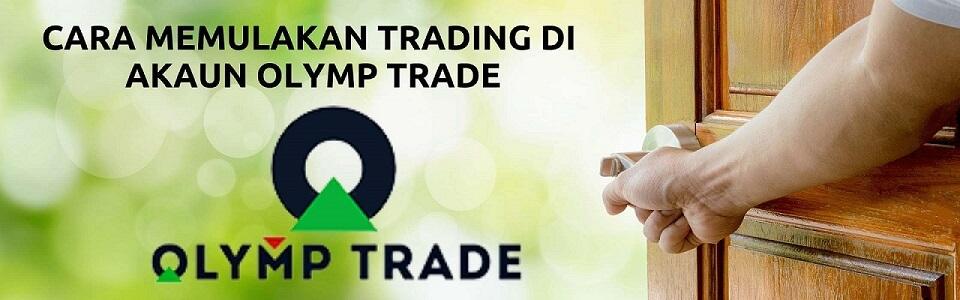 Cara memulakan trading di akun OlympTrade — semuanya sangat sederhana dan nyaman