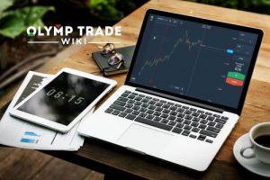 Cara memasuki Olymp Trade — masukkan detail Anda dan pergi